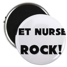 Wet Nurses ROCK Magnet