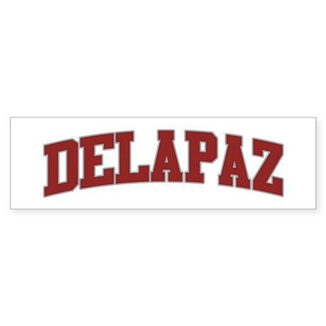 DELAPAZ Design Bumper Sticker