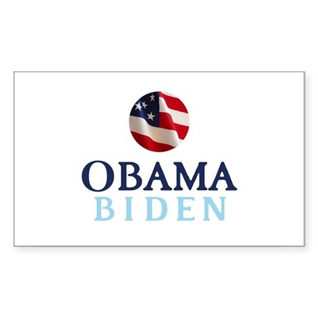 Obama / Biden Rectangle Sticker