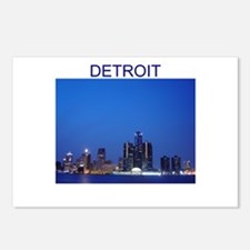 detroit Postcards (Package of 8)