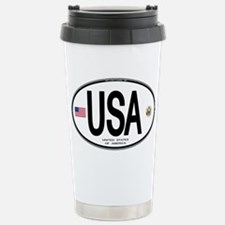 USA Euro-style Country Code Stainless Steel Travel