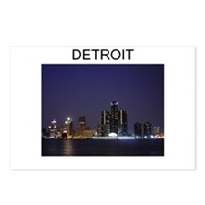 DETROIT CITY 2 Postcards (Package of 8)