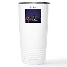 DETROIT CITY 2 Travel Coffee Mug