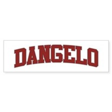DANGELO Design Bumper Bumper Sticker
