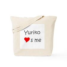 Funny Yuriko Tote Bag