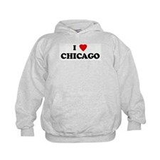I Love CHICAGO Hoodie