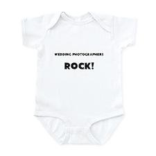 Wedding Photographers ROCK Infant Bodysuit