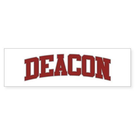 DEACON Design Bumper Sticker