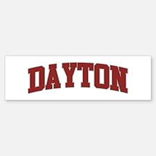 DAYTON Design Bumper Bumper Bumper Sticker