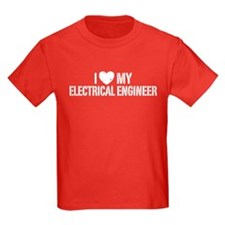 I Love My Electrical Engineer T