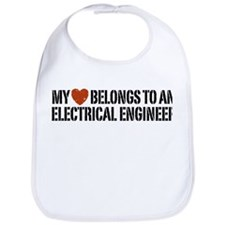 My Heart Belongs to an Electrical Engineer Bib