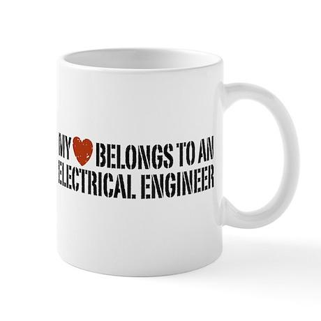My Heart Belongs to an Electrical Engineer Mug