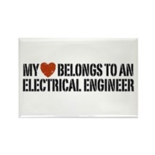 My Heart Belongs to an Electrical Engineer Rectang