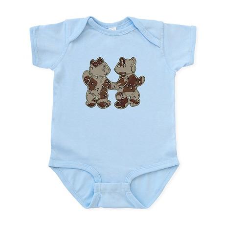 Kid Bears Desert Camo Infant Bodysuit