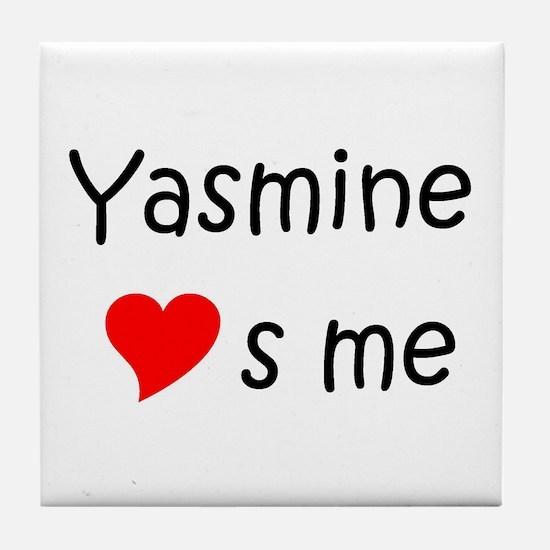 Unique Yasmine Tile Coaster