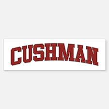 CUSHMAN Design Bumper Bumper Bumper Sticker