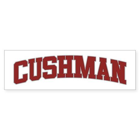 CUSHMAN Design Bumper Sticker