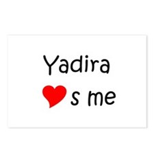 Funny Yadira Postcards (Package of 8)