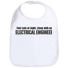 Feel Safe with an Electrical Engineer Bib