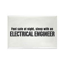 Feel Safe with an Electrical Engineer Rectangle Ma