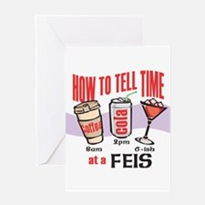 FEIS TIME Greeting Card