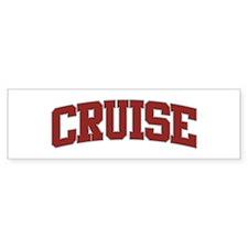 CRUISE Design Bumper Bumper Sticker