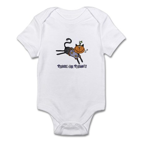 trick or treat Infant Bodysuit