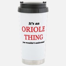 It's an Oriole thin Stainless Steel Travel Mug