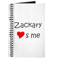 Funny Zackary Journal