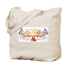 Tribal Thunderbird Tattoo Tote Bag