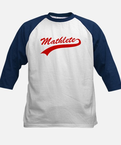 Mathlete Kids Baseball Jersey