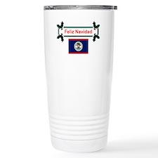 Belizean Feliz Navidad Travel Mug