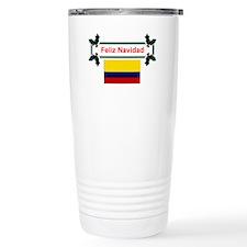 Colombian Feliz Navidad Travel Mug