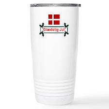 Denmark Glaedelig Jul Travel Mug