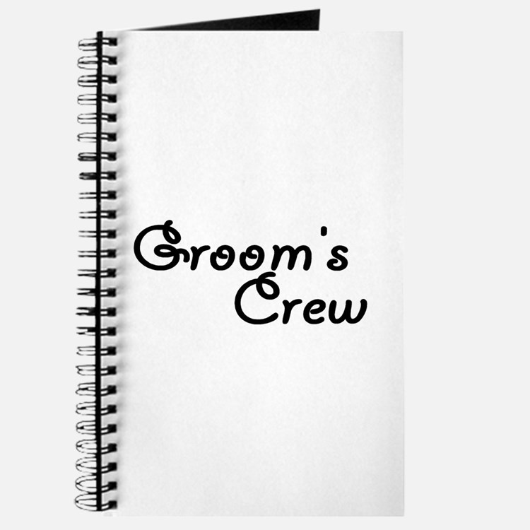 Groom's Crew Journal