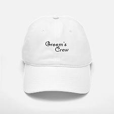 Groom's Crew Baseball Baseball Cap