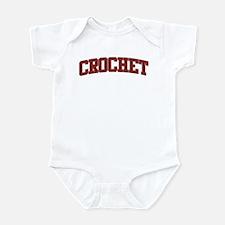 CROCHET Design Infant Bodysuit