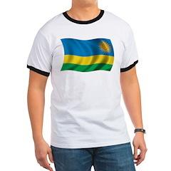 Wavy Rwanda Flag T