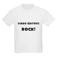Video Editors ROCK T-Shirt