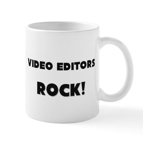 Video Editors ROCK Mug