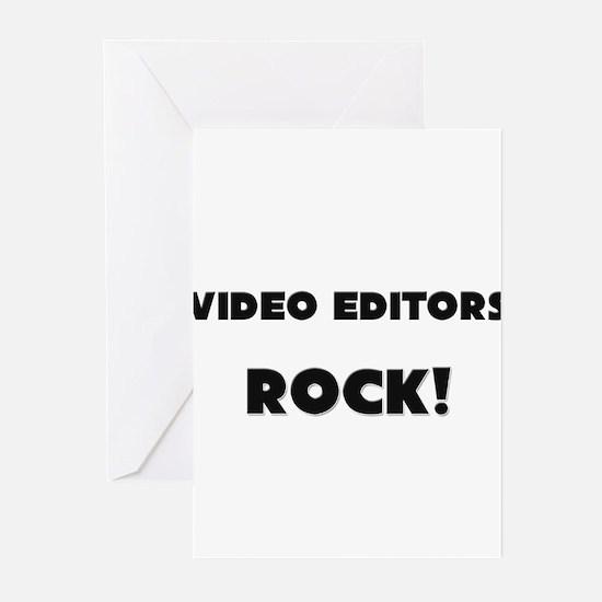 Video Editors ROCK Greeting Cards (Pk of 10)