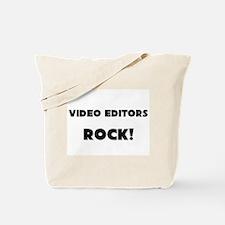 Video Editors ROCK Tote Bag
