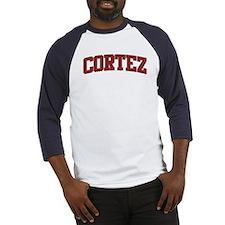 CORTEZ Design Baseball Jersey