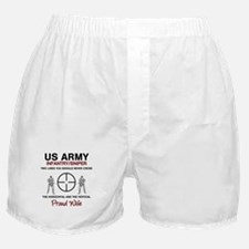 Infantry Sniper Crosshairs Wife Boxer Shorts