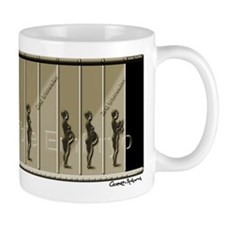 Pregnancy Timeline/Sepia Mug