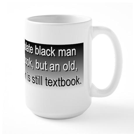 """""""race"""" for president Large Mug"""