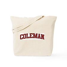 COLEMAN Design Tote Bag
