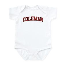 COLEMAN Design Infant Bodysuit