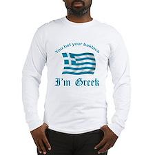 Greek Baklava2 Long Sleeve T-Shirt