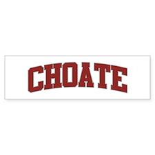 CHOATE Design Bumper Bumper Sticker